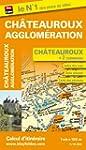 Plan de Ch�teauroux et de son agglom�...