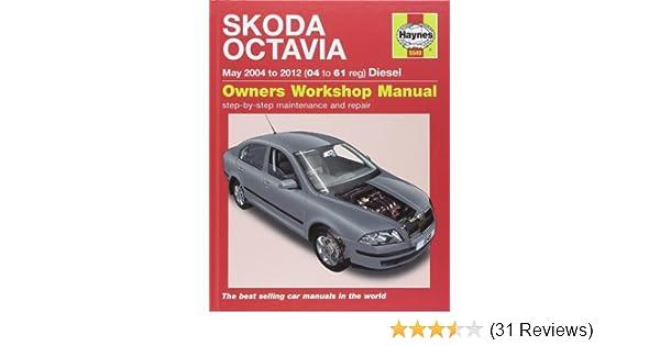 skoda octavia diesel service and repair manual 04 12 haynes