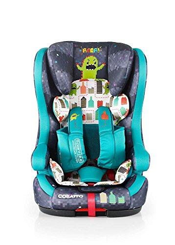Preisvergleich Produktbild Hubbub ISOFIX Gruppe 123 Autositz (Monster Arcade)