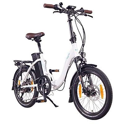 """NCM Paris+ 20"""" E-Bike, E-Faltrad, 36V 19Ah 684Wh"""