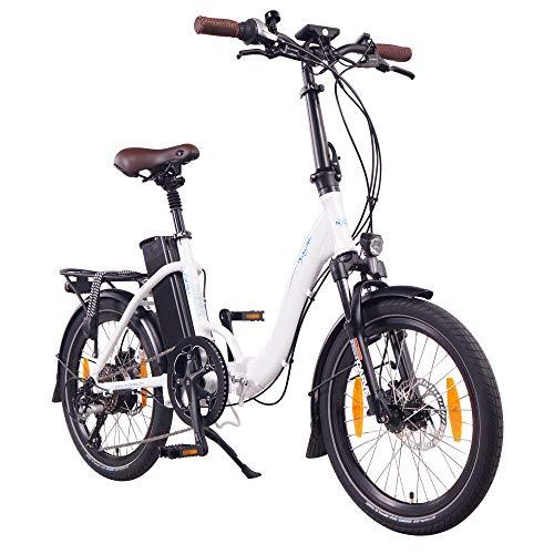 """NCM Paris+ 20\"""" E-Bike, E-Faltrad, 36V 19Ah 684Wh Weiß"""