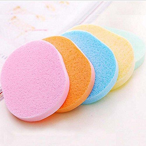 Asentechuk® 10pcs Natural suave polvo limpieza facial