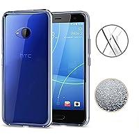 HTC U11 Life Hülle, TopACE TPU Hülle Schutzhülle Crystal Case Durchsichtig Klar Silikon transparent für HTC U11 Life (Transparent)