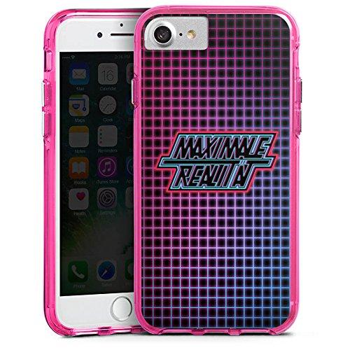Apple iPhone X Silikon Hülle Case Schutzhülle Rocket Beans TV etienne rocketbeanstv Bumper Case transparent pink