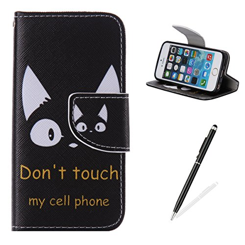 feeltech-iphone-5-iphone-5s-se-book-style-casepu-leather-wallet-case-magnetized-closure-card-slots-m