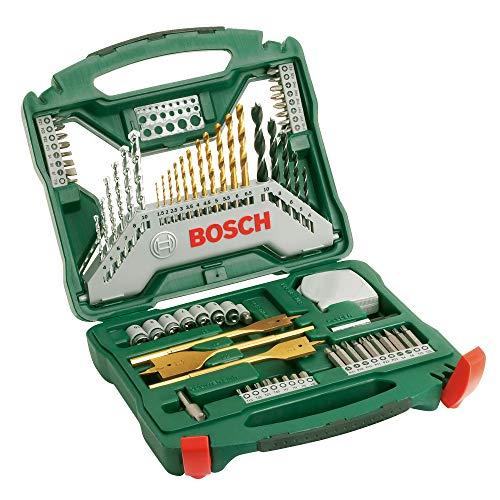 Bosch 70tlg. X-Line Titanium-Bohrer und Schrauber-Set