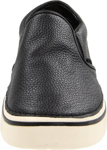crocs Hover Slip On Leather 11755, Baskets mode homme Noir - black/stucco