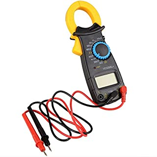 Asdomo VC3266L AC DC Voltage LCD Digital Clamp Multimeter Electronic Tester Meter