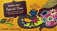 Trader Joe's Spiced Chai Tea---2 pkgs of 20 tea bags