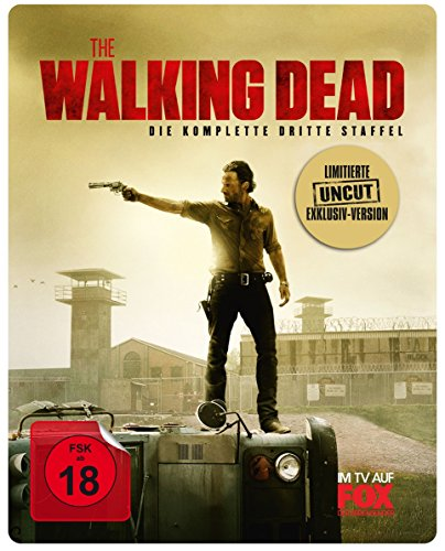 The Walking Dead - Die komplette dritte Staffel - Uncut/Steelbook [Blu-ray] [Limited Edition] hier kaufen