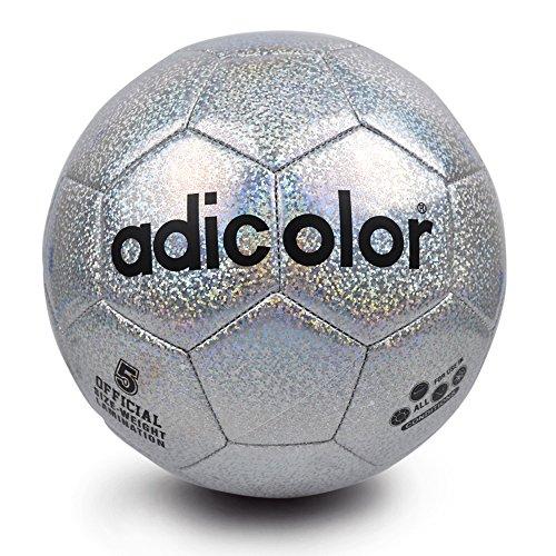 is Adicolor Luminous Football Nacht Licht Phosphoreszierendes Fußball Kinder Spiel Zug Luminescence Bälle Herren Frauen Glowing Fußball Größe 5 (Light Up Soccer Balls)
