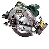 Scie Circulaire, TECCPO Professional 1200W Scie Circulaire Électrique, 5800 tr/min, Avec Lame de 185mm, 24 Dents,...