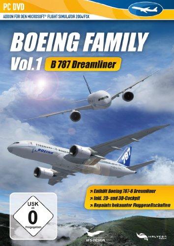 Microsoft Flight Simulator 2004/FSX - Boeing Family Vol. 1 : B787 Dreamliner (AddOn) [import allemand]