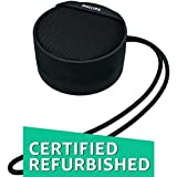 (Renewed) Philips BT40BK/94 Portable Wireless Bluetooth Speaker (Black)