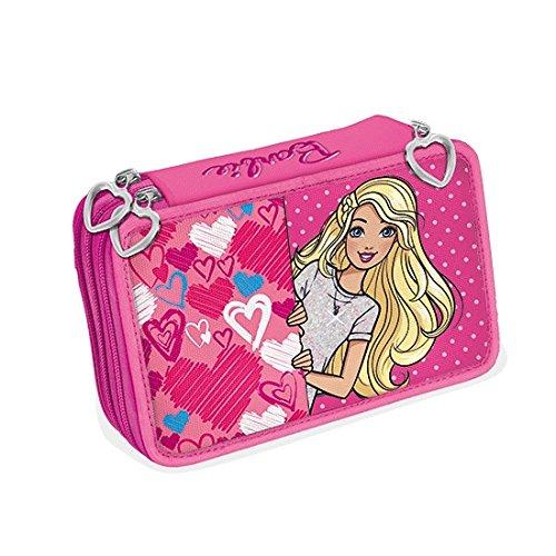 Barbie astuccio 3 zip