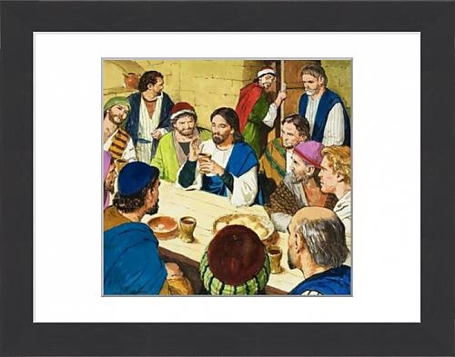 framed-print-of-the-last-supper