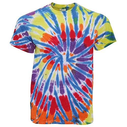 TieDyeUK - T-shirt arc-en-ciel - Homme (XL - 117/122cm) (Chanp)