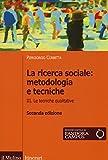 libro La ricerca sociale: metodologia e tecniche: 3