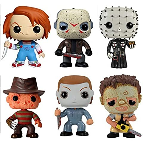 Funko POP! Classic Horror Movies Vinyl Figure Collection (Set of 6) by Horror Movies