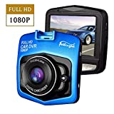 "Dash Cam 2.4"" LCD Dash Camera Car DVR Driving Recorder with Full HD 1080P Vehicle Video Recorder,Parking Monitor,Loop Recording Super Night Vision"