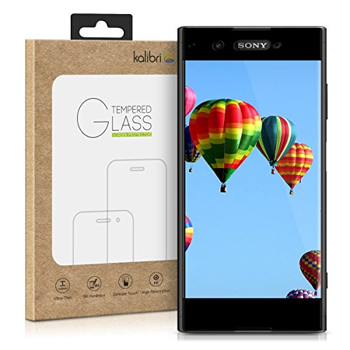 kalibri-Echtglas-Displayschutz-fr-Sony-Xperia-XA1-Plus-3D-Schutzglas-Full-Cover-Screen-Protector-mit-Rahmen-Glas-Folie-auch-fr-gewlbtes-Display-in-Schwarz
