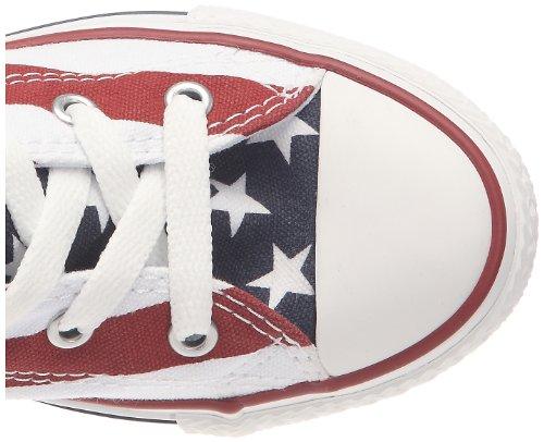 Converse All Star Hi Canvas - F2, Sneaker, Unisex - adulto Stars&Bars