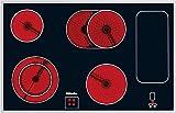 Miele KM 6032 Elektro-Kochfeld / Glaskeramik / Breite: 79.4 cm / HiLight-Beheizung / Restwärmeanzeige