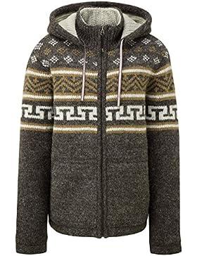 Sherpa hombre Kirtipur sudadera Jersey, hombre, Kirtipur Sweater, Maato Brown, Small