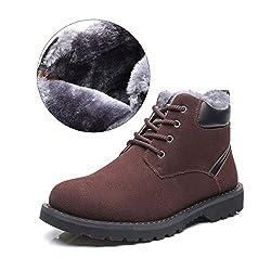 Hombres Zapatos de Nieve...