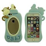 """iPhone 6 6S Schutzhülle Hülle 4.7"""" Case, Babymilchflasche Modellieren Entwurf Entwurf Prämie Silikon Material Ultra Weich [Spezielle & Interesting]"""