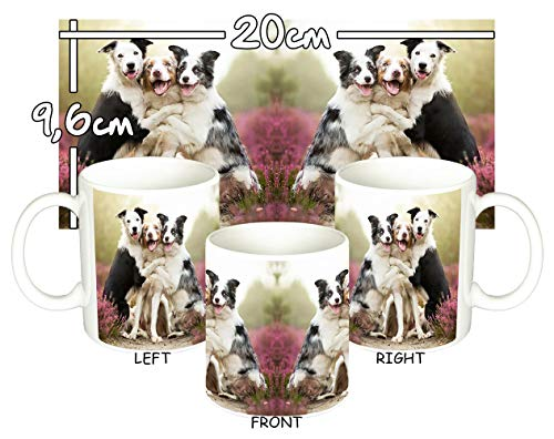 MasTazas Border Collie B Tasse Mug