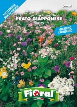 Sementi da fiore di qualità in bustina per uso amatoriale (PRATO GIAPPONESE FIORITO)