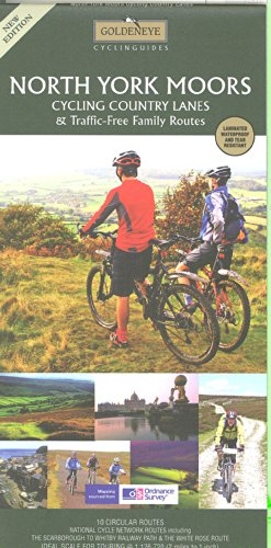 North York Moors Cycling Country Lanes & Traffic-free Family Routes (Goldeneye Cyclinguides) por Al Churcher