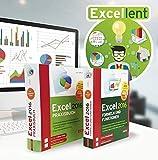 Excel - Alles, was Sie wissen müssen zu Formeln, Funktionen, VBA Makros, Tabellenkalkulation, Projektmanagement und Power Pivot: 2 Bände