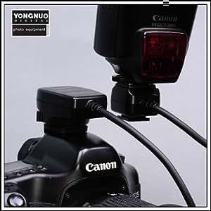 Rallonge E-TTL II pour flash Canon 0,4 - 0,9m - pour 380EX 430EX 550EX 580EX 1d 5d 1000d 450d 400d 350d 300d etc. - nouv