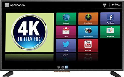 Mitashi 107.95 cm (43 inches) MiDE043v10 FHD Ultra HD 4K Smart LED TV (Black)