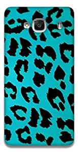 The Racoon Lean printed designer hard back mobile phone case cover for Xiaomi Redmi 2. (LEOPARD PR)