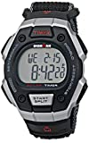 Timex Men's T5K8269J Ironman Classic Digital Silver-Tone Resin Watch with Black Nylon Band
