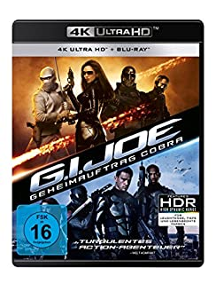 G.I. Joe - Geheimauftrag Cobra (4K Ultra HD) (+ Blu-ray 2D)