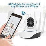 1080P Pan/Tilt Wireless WiFi IP-Kamera, Home Security Surveillance Videokamera mit Zwei-Wege-Audio, Nachtsicht für Baby/Elder / Pet Monitor