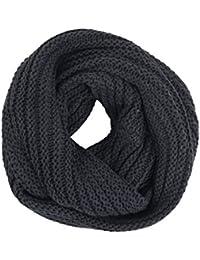 Solid Loopschal EFUOSA Dark Grey