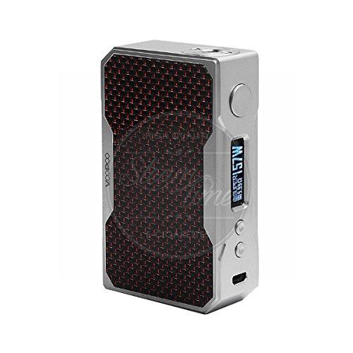 VooPoo DRAG 157W TC Box Mod Akkuträger Farbe Silver&Red -