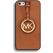 Classic MK Logo Michael Kors Phone Case Cover For iPhone 6/iPhone 6S Hard Case_Brown