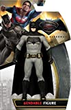 #2: (CERTIFIED REFURBISHED) NJ Croce Batman Vs Superman Batman Bendable Action Figure, Multi Color