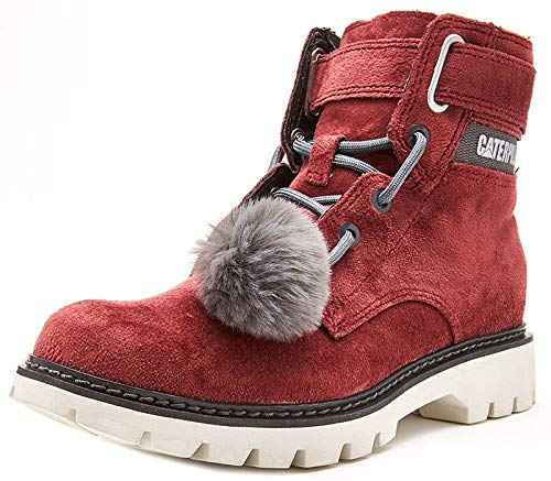 Caterpillar Conversion Velvet Ankle Boots/Boots Women Purple - 5 - Ankle Boots Caterpillar Ankle Boot