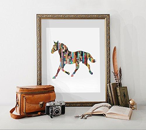 horse-magazine-strip-art-print-various-sizes