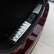 f-pace F Pace X7612016car-styling Edelstahl Innen Stoßstange hinten Displayschutzfolie Abdeckung Trim 2