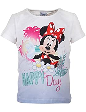 DISNEY Mädchen Minnie Mouse Shirt, hellblau