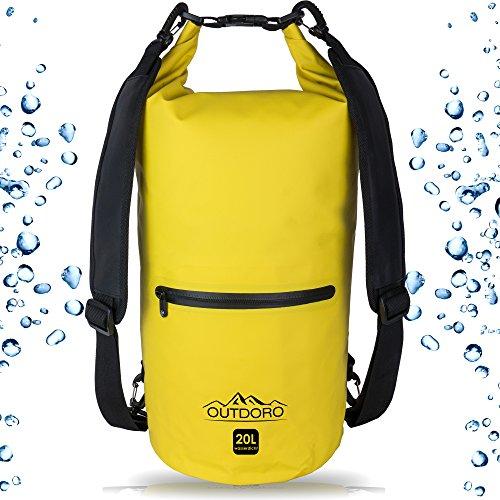 Wasserdichter Packsack / Rucksack - Wasserfester Dry-Bag / Seesack / Trockentasche / Survival Beutel / Sack - Perfekte Tasche für Wassersport