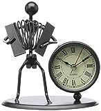 Gewa 980708 Sculpture avec horloge Motif Accordéon